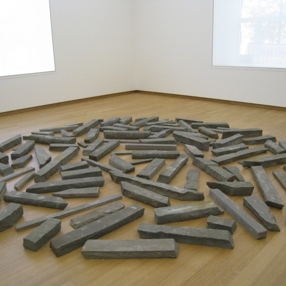 Richard Long: Bluestone Circle