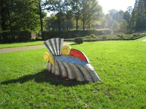 Snail in De Heuvel Park