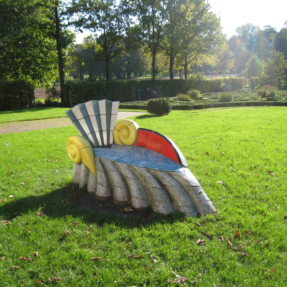 Snail in the Euromast Park