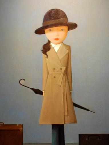 Miss, 2008 by Liu Ye 2008, Acrylic on canvas, 140 x 160 cm