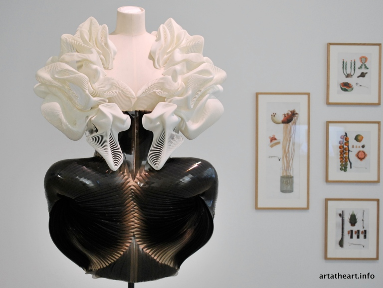 Collection Escapism, 2011 (3D print polyamide, smoked plastic oil sheets)