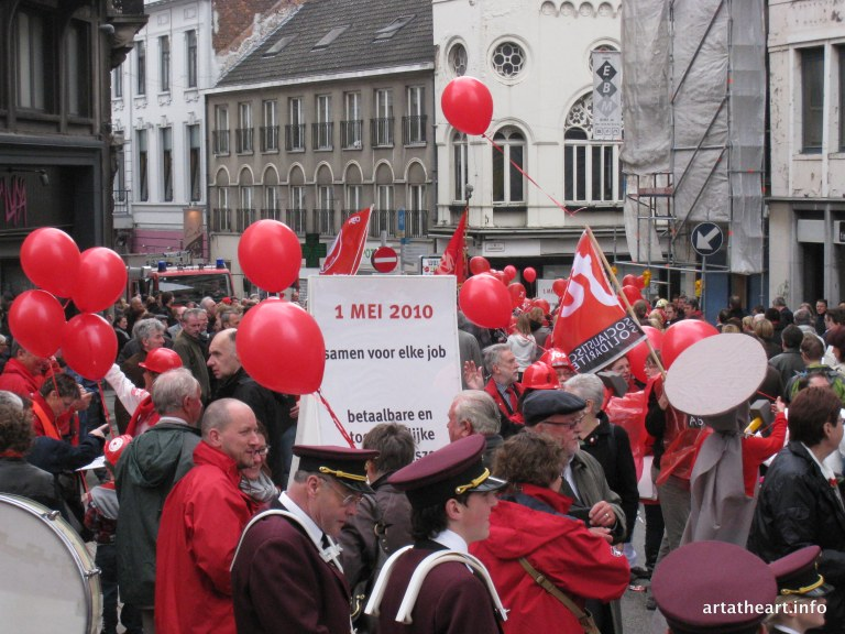 May Day Parade, Ghent