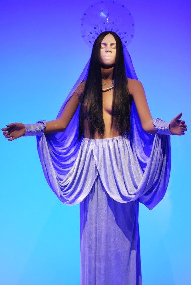 First gown created by Jean Paul Gaultier, summer 1971