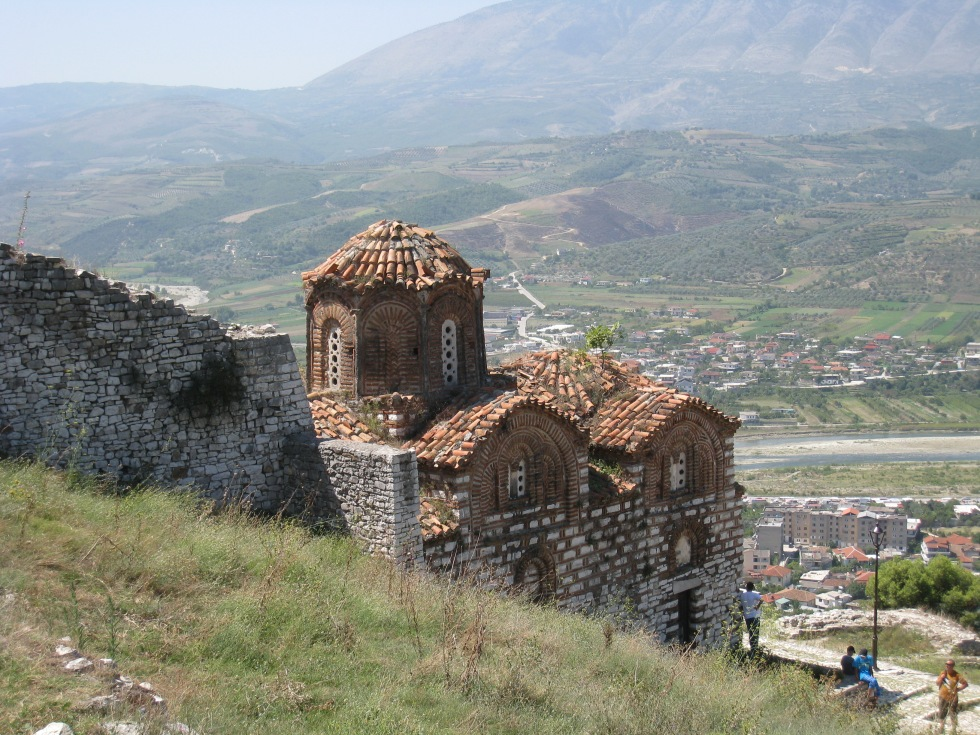 The ancient Holy Trinity church in citadel