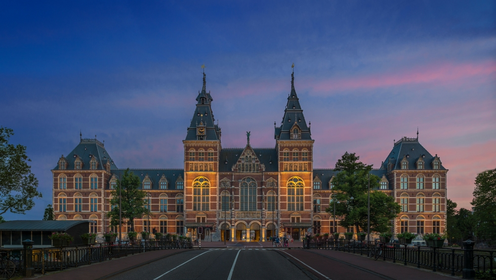 Rijksmuseum in 2014. Photo by John Lewis Marshall