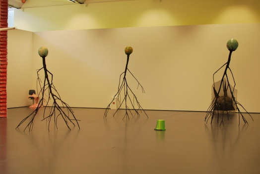 Nervous Trees (Electromechanical sculpture, 2013)